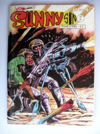 BD SUNNY SUN N°39 MON JOURNAL 1983 : SUPERCRACK