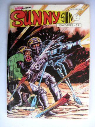 BD SUNNY SUN N°39 MON JOURNAL 1983 : SUPERCRACK