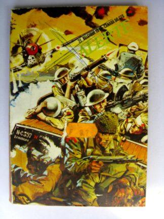 BD ALERTE N°55 L'enfer de la jungle (EDI EUROP) 1973
