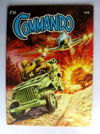 BD COMMANDO N°166 Le soldat inconnu (AREDIT 1969)
