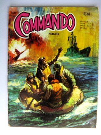 BD COMMANDO N°168 La vedette ne répond pas (AREDIT 1969)