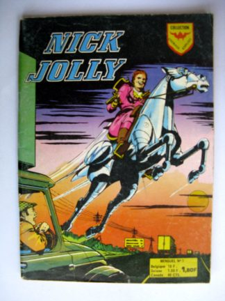 BD NICK JOLLY n°1 - Le bandit volant - Lonely Larry - Aredit 1975