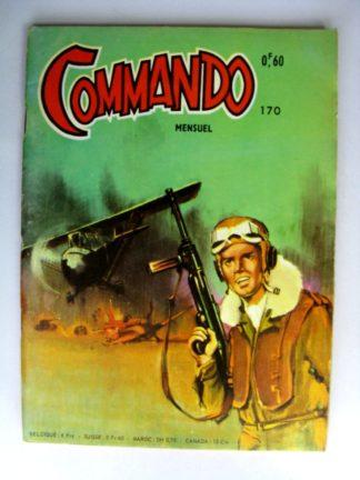 BD COMMANDO N°170 La dernière chance (AREDIT 1969)