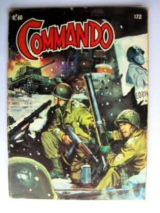 BD COMMANDO N°172 Une situation catastrophique (AREDIT 1969)
