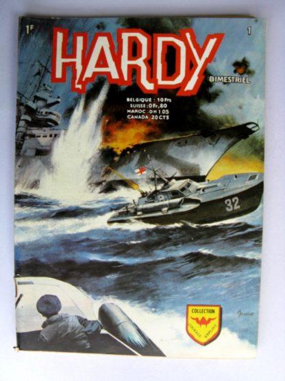 BDHARDY 2e série N°1Bombardiers en déroute - AREDIT 1971