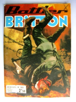 BATTLER BRITTON N°383 Les Avions-Robots - IMPERIA 1979