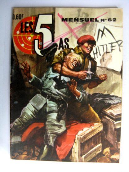 LES 5 AS N°62 Sharo, le guerillero - IMPERIA 1970
