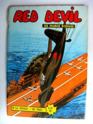 (BD) RED DEVIL - LES DIABLES ROUGES N°20 - REMPARTS 1962