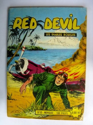 RED DEVIL - LES DIABLES ROUGES N°20 (récit de guerre) Jerowa (western) Gordon short - Editions des REMPARTS 1962