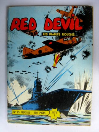RED DEVIL - LES DIABLES ROUGES N°23 REMPARTS 1963