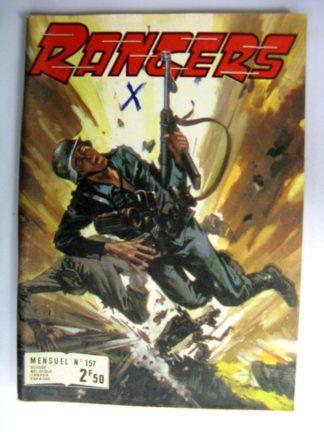 (BD) RANGERS N°157 Les hasards de la guerre - IMPERIA 1978