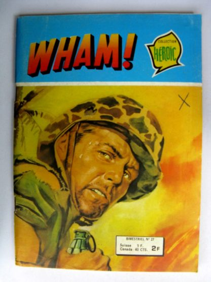 (BD) WHAM N°27 Le témoin - Editions AREDIT 1978
