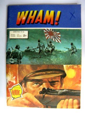 (BD) WHAM N°28 Mission périlleuse (récits de guerre) AREDIT 1979