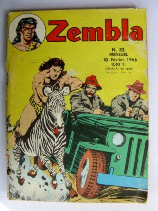 ZEMBLA N°32 LUG 1966 : La révolte des esclaves - Guillaume Tell