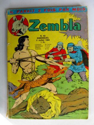 ZEMBLA N°62 LUG 1966 : La loi du Mahdi - Rakar - Gallix
