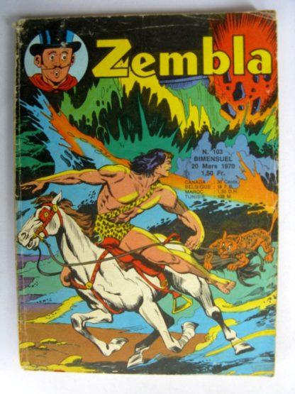ZEMBLA N°103 LUG 1970 : Lutte pour l'oasis- Gun Gallon - Rakar