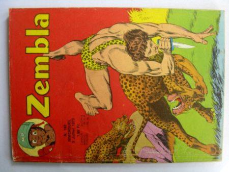 ZEMBLA N°182 LUG 1973 : Un raid périlleux - Gun Gallon - Bill et Barry