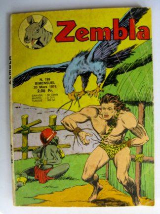 ZEMBLA N°199 LUG 1974 : Une reine en péril - Jacky West - Bill et Barry