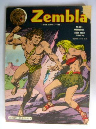 ZEMBLA N°331 LUG 1982 : Les femmes singes - Rakar