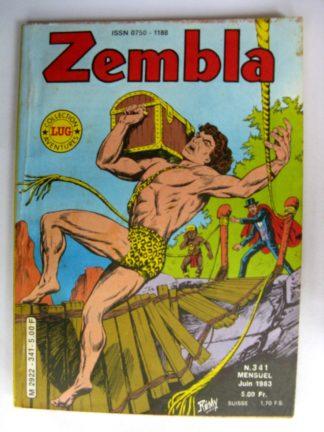 ZEMBLA N°341 LUG 1983 : Le trésor des Kavaghs - Rakar