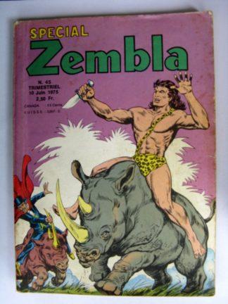 ZEMBLA SPECIAL N°45 LUG 1975 : Les vendeurs d'armes