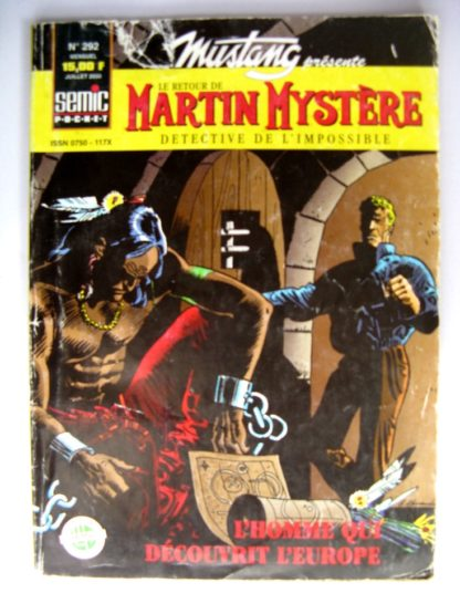 BD MUSTANG N°292 LUG 2000 : MARTIN MYSTERE