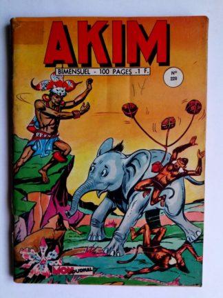 BD Akim n°220 MATUMBO L'HOMME LEOPARD -Mon Journal