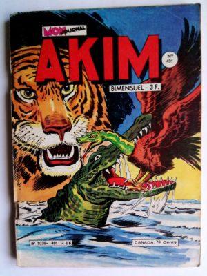 AKIM (1e série) N°491 Tigor le terrible (MON JOURNAL 1980)