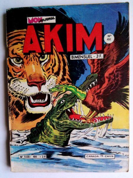 BD AKIM N°491 Tigor le terrible - Mon Journal 1980