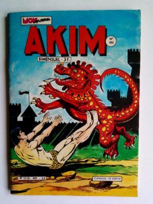 AKIM (1e série) N°493 Le royaume des sang-blanc (MON JOURNAL 1980)