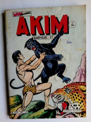 AKIM (1e série) N°495 Le mystère du Mont Kamayuro (MON JOURNAL 1980)