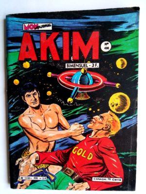 AKIM (1e série) N°496 Luna gold (MON JOURNAL 1980)