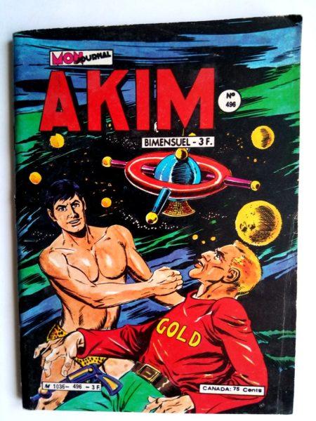 BD AKIM N°496 Luna gold - Mon Journal