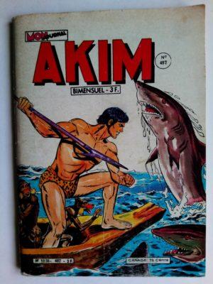 AKIM (1e série) N°497 Mister Gold revient (MON JOURNAL 1980)