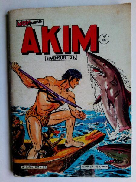 BD AKIM N°497 Mister Gold revient - Mon Journal
