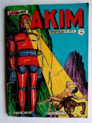 AKIM (1e série) N°499 Toukar le tout-puissant (MON JOURNAL 1980)