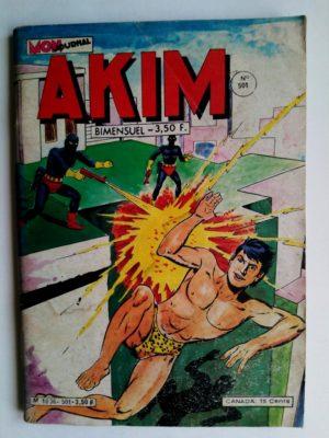AKIM (1e série) N°501 Les spectres noirs (MON JOURNAL 1980)