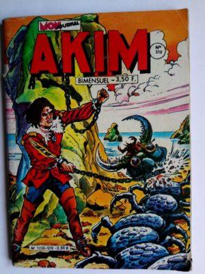 AKIM (1e série) N°510 Oméga le génial (MON JOURNAL 1980)