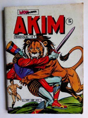 AKIM (1e série) N°528 La ville des dix tours (MON JOURNAL 1981)