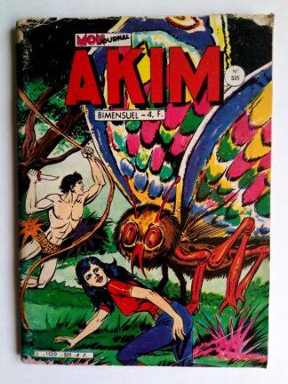 BD AKIM N°531 Les géants de l'île verte - Editions MON JOURNAL 1981