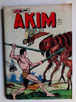 BD AKIM N°532 Les fourmis rouges - Editions MON JOURNAL 1981