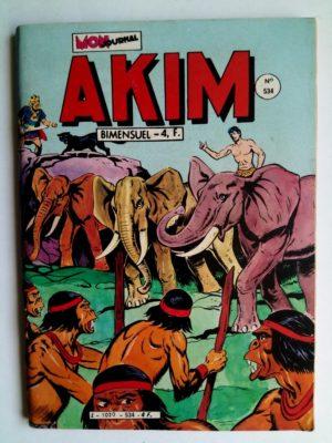 AKIM (1e série) N°534 Katr l'intrigante – Editions MON JOURNAL 1981