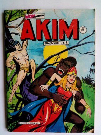 BD AKIM N°535 La nuit des alliés - Editions MON JOURNAL 1981