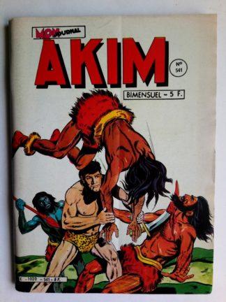 BD AKIM N°541 - LE CHATEAU DES MYSTERES (Mon Journal 1982)