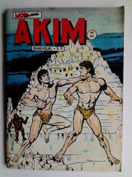 BD AKIM N°544 L'armée de Mog - Editions MON JOURNAL 1982