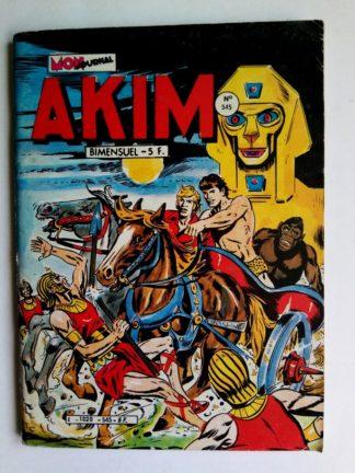 BD AKIM N°545 Le dieu de la mort - Editions MON JOURNAL 1982
