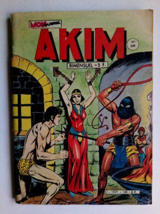 BD AKIM N°546 L'envoyée des dieux - Editions MON JOURNAL 1982
