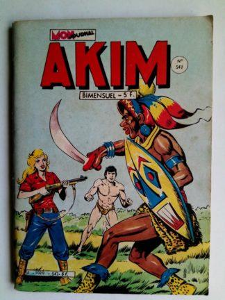 BD AKIM N°547 La pierre philosophale - Editions MON JOURNAL 1982