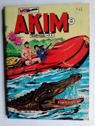 BD AKIM N°550 L'exode des sables - Editions MON JOURNAL 1982