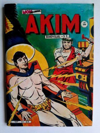 BD AKIM N°554 La clairière du crâne - Editions MON JOURNAL 1982